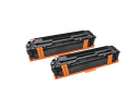 HP Color LaserJet CP1215/CP1515 (125A) Black Twin Pack