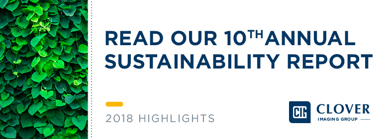2018 Sustainability Report | Clover Imaging Group