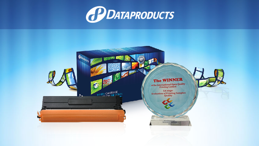 Dataproducts wins Russian International Open Quality Printing Contest