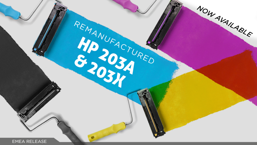 Clover announces the release of HP 203A and 203X cartridges!