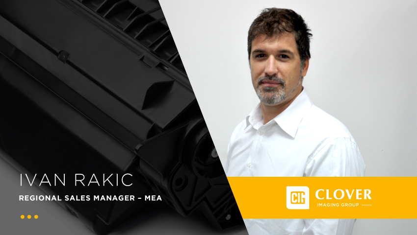 Clover appoints Ivan Rakic the new MEA Regional Sales Manager