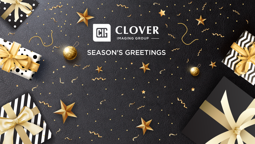 Season's greetings from everyone in Clover Imaging Group!