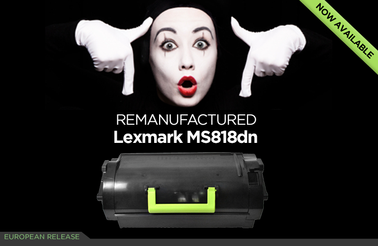 Lexmark MS818dn A4 mono laser printer
