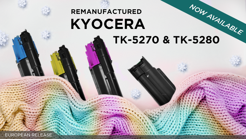 Boost your product range with Clover's TK-5270 and TK-5280 remans!