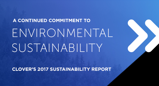 Clover's 2017 Sustainability Report